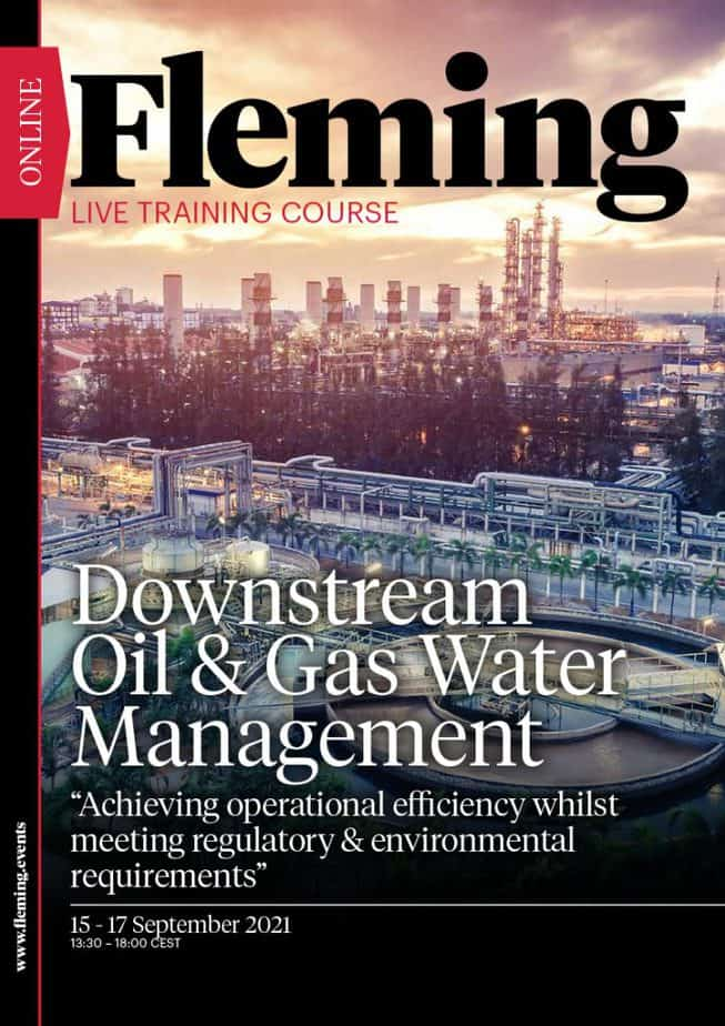 Downstream Oil & Gas Water Management Training Course   Fleming