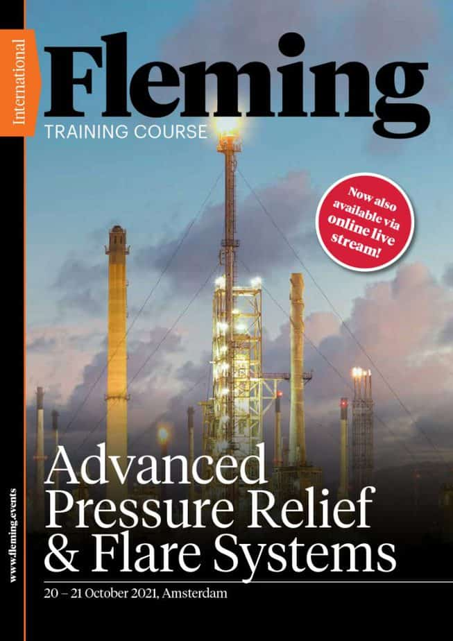 Advanced Pressure Relief & Flare Systems Training Course   Fleming