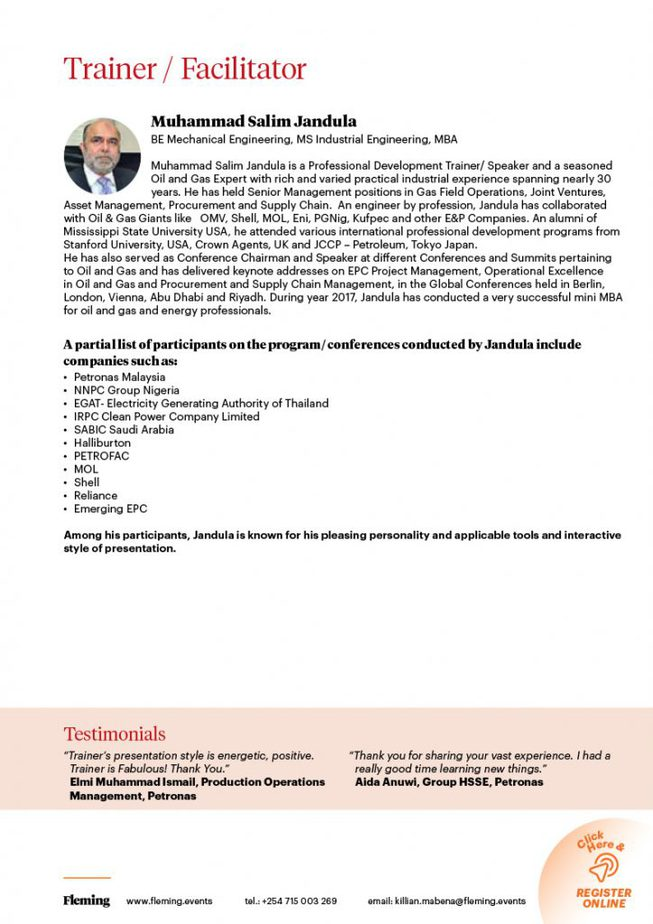 HAZID and HAZOP Masterclass Training Course | Fleming