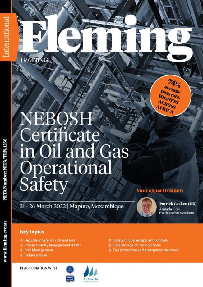 NEBOSCH Certificate in Oil and Gas Operatinal Safety | Fleming